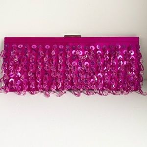 BANANA REPUBLIC Pre-owned Sequin Beaded Clutch